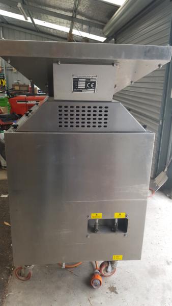 Oliomio machine 2000 model - side view
