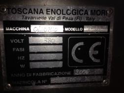 Oliomio 150 - serial plate
