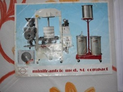 Used Mini Compact 80 Olive Press