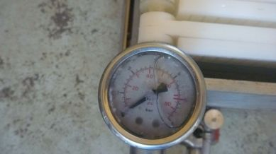 Wine Plate Filter Jolly by TEM MORI - Pressure Gauge