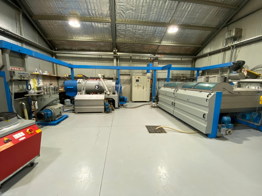 Pieralisi Olive Oil Processing Plant 2.8T/hr Line